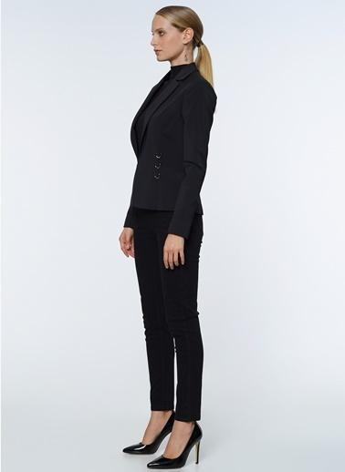Que Blazer Ceket Siyah